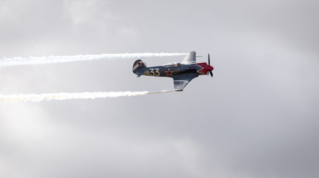 YAK-3 Steadfast - Red Thunder Air Show - 2018