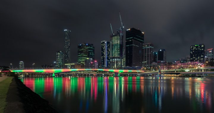 Brisbane City, Christmas 2018