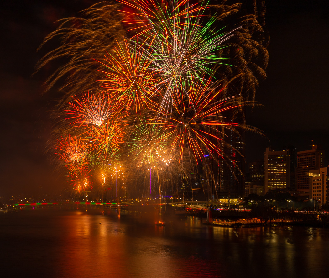 The grand finalle, fireworks 2019